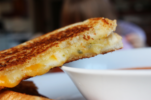 A grilled cheese sandwich all grown up!