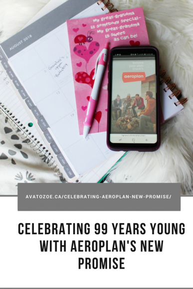 Celebrating 99 Years Young with Aeroplan's New Promise 7