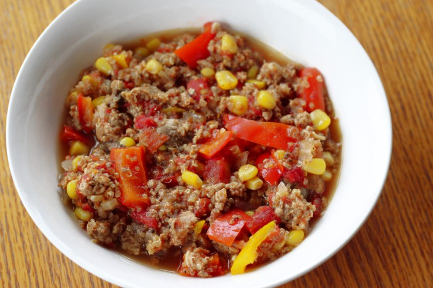 Delicious Spicy Ground Turkey Chili with Quinoa Recipe 2