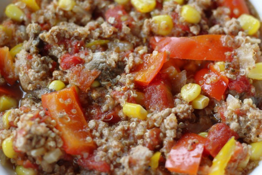 Delicious Spicy Ground Turkey Chili with Quinoa Recipe 1