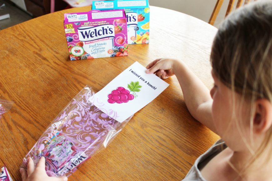Welch's Fruit Snacks A BTS Essentials Pack *Printable & Video* 5