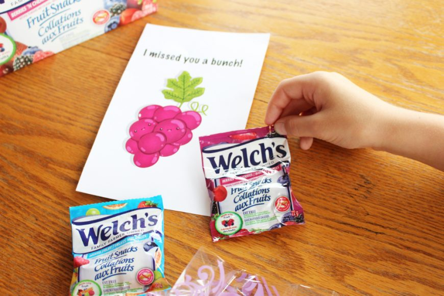 Welch's Fruit Snacks A BTS Essentials Pack *Printable & Video* 3