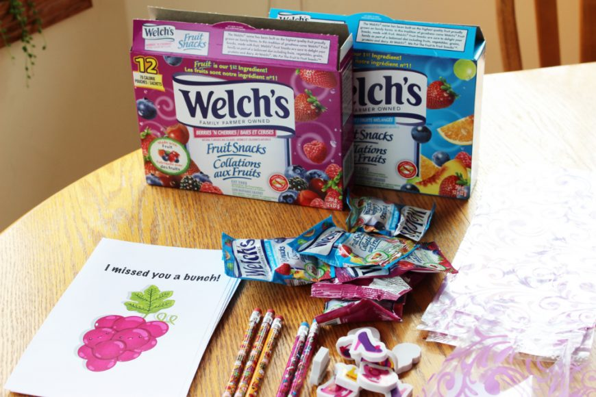 Welch's Fruit Snacks A BTS Essentials Pack *Printable & Video* 1