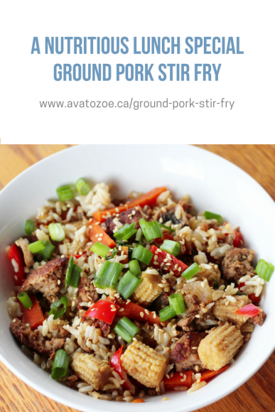 A Nutritious Lunch Special Ground Pork Stir Fry Recipe 3
