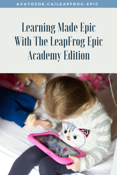 Learning Made Epic With The LeapFrog Epic Academy Edition 6