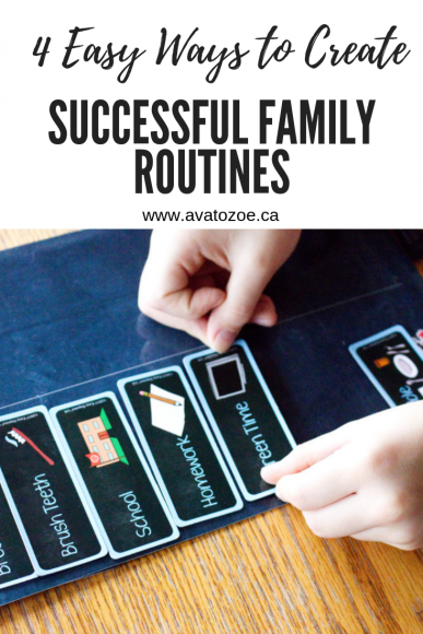 4 Easy Ways to Create Successful Family Routines 6