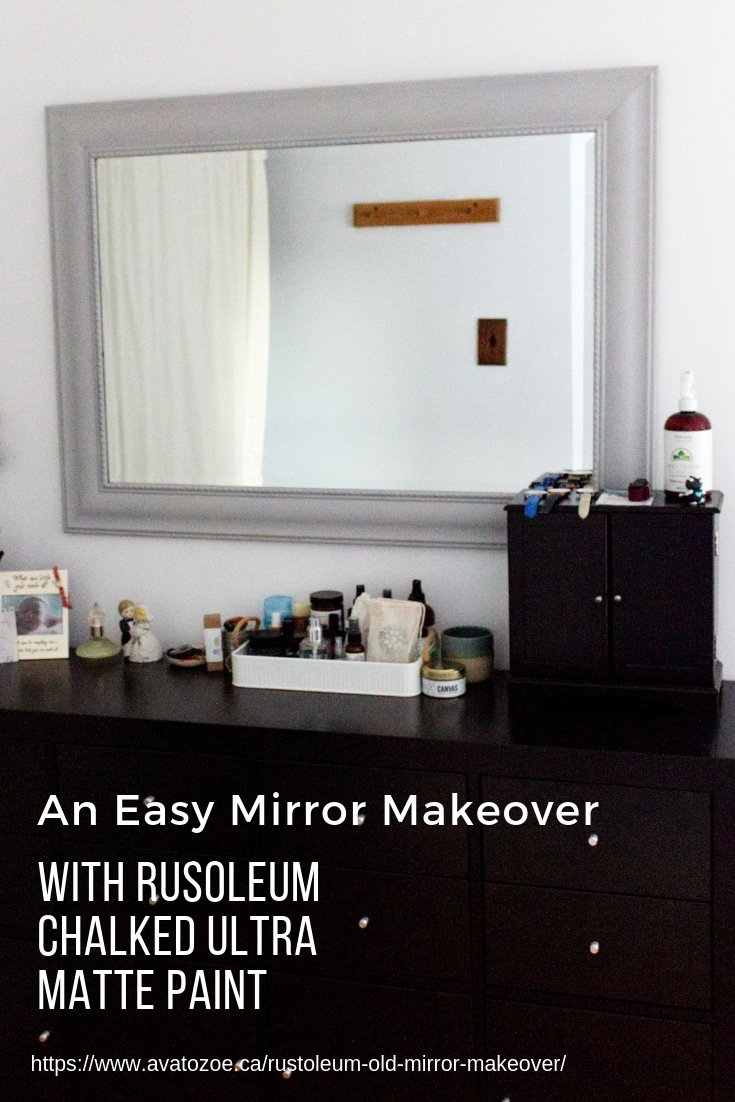 5 Steps For An Easy Mirror Makeover to Brighten Up Your Bedroom 9