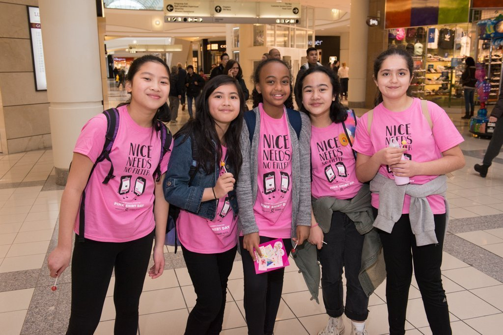 Stop Bullying & Celebrate Kindness With Metrotown At Pink Shirt Day 2019 3