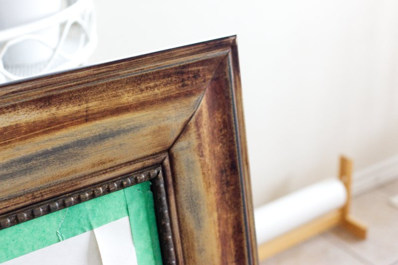 5 Steps For An Easy Mirror Makeover to Brighten Up Your Bedroom 6