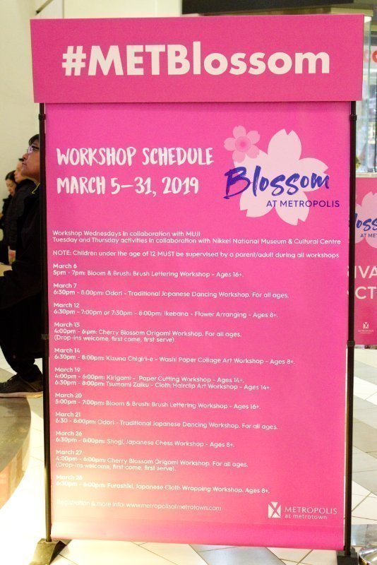 Spring is HERE: Blossom At Metropolis ft: 250,000 Blossoms 13