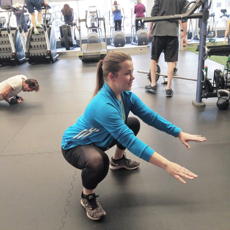 Finishing  Strong With Club16 Trevor Linden Fitness 1