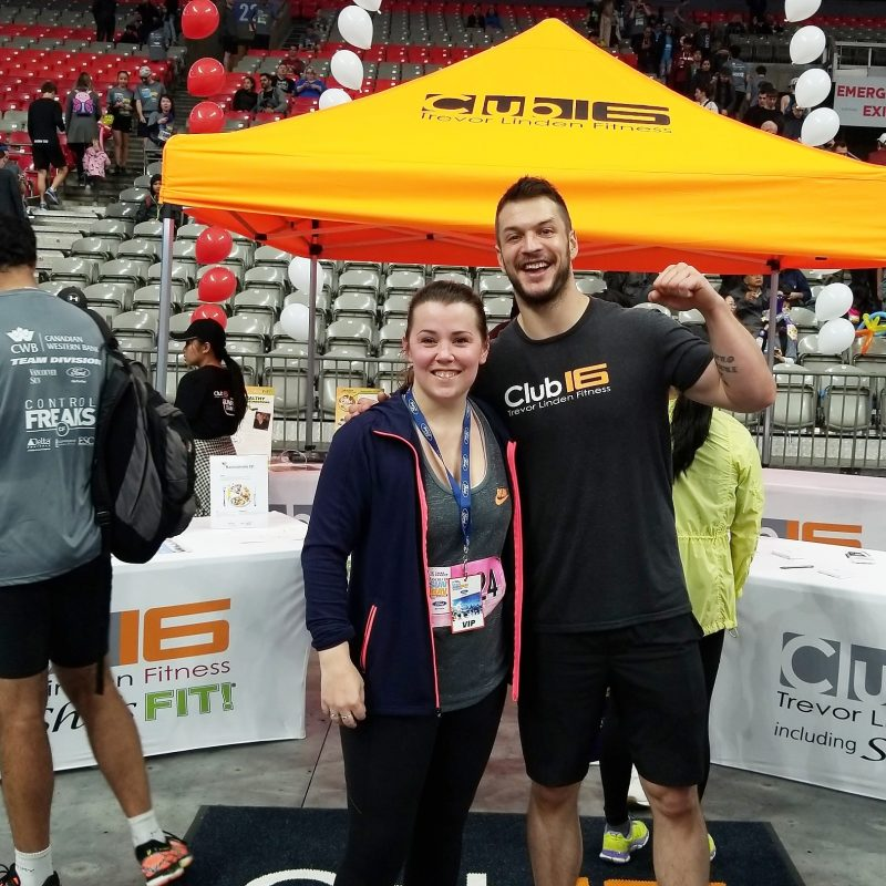 Finishing  Strong With Club16 Trevor Linden Fitness 6